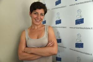 Delia Del Gaudio, responsabile comunicazione di Ambiente Solidale
