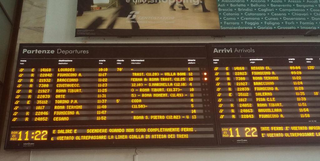 stazione ostiense treno