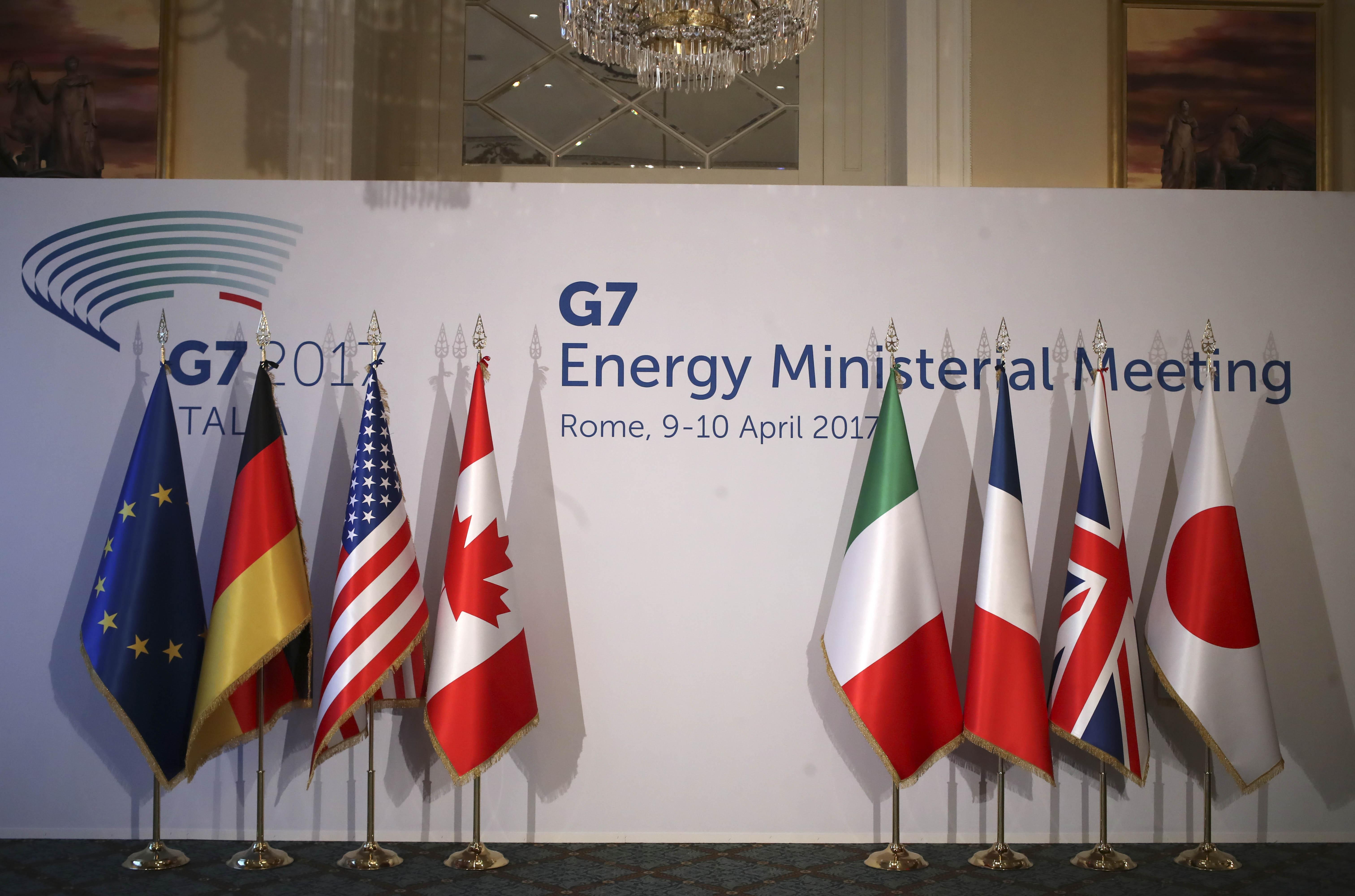 carli calenda g7 energia palco