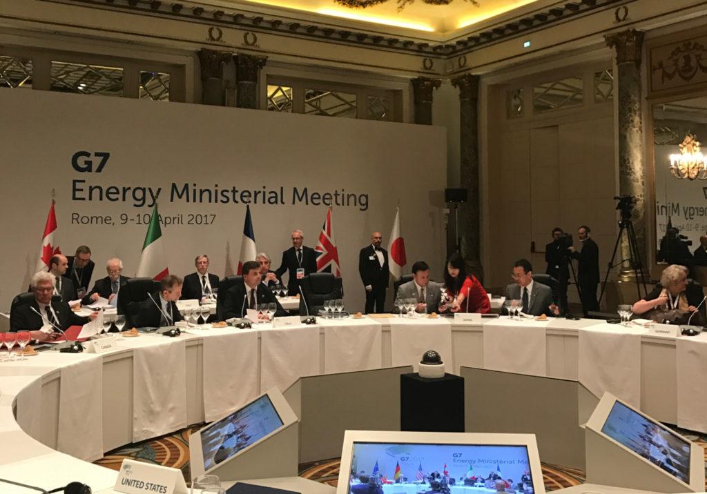 G7 energia Roma