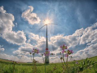 elettricità eolico