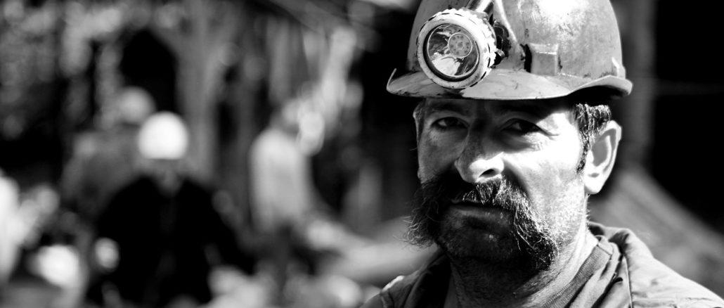 carbone minatore coal